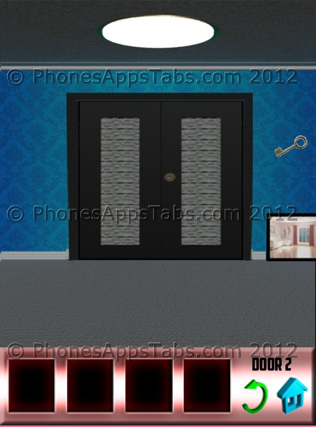 100 doors walkthrough and solutions or levels 1 2 3 4 for Door 4 level 21
